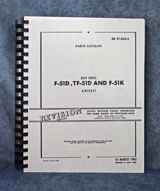 AN01-60JE-4 USAF SERIES PARTS CATALOG