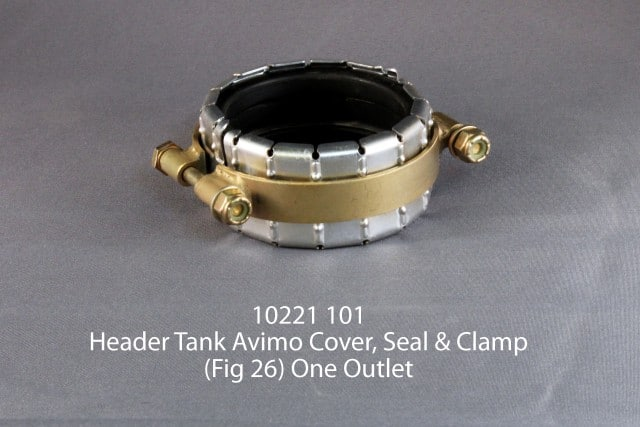 101 10221 HEADER TANK AVIMO COVER, SEAL AND CLAMP